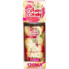 Жидкость Cotton Candy 120 мл Cheesecake Малина 0 мг/мл