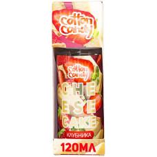 Жидкость Cotton Candy 120 мл Cheesecake Клубника 0 мг/мл