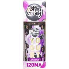 Жидкость Cotton Candy 120 мл Yogurt Смородина 0 мг/мл