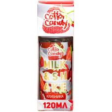 Жидкость Cotton Candy 120 мл Milk Shake Клубника 0 мг/мл