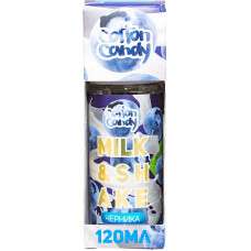 Жидкость Cotton Candy 120 мл Milk Shake Черника 0 мг/мл