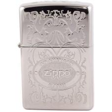 Зажигалка Zippo 24751 American Classic High Polish Chrome Бензиновая