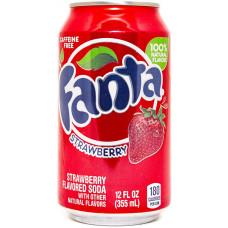 Напиток Fanta Клубника 355 мл