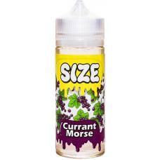 Жидкость Size 120 мл Currant Morse 0 мг/мл