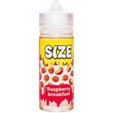 Жидкость Size 120 мл Raspberry Breakfast 0 мг/мл