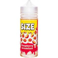 Жидкость Size 120 мл Raspberry Breakfast 3 мг/мл