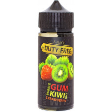 Жидкость Duty Free Fresh 120 мл Bubblegum Kiwi Strawberry 3 мг/мл