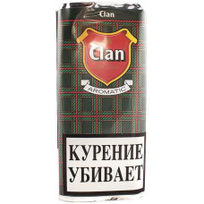 Табак трубочный CLAN Aromatic 50 г (кисет)