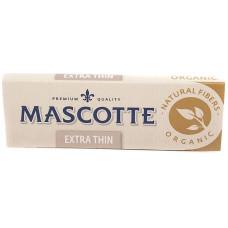 Бумага сигаретная MASCOTTE Extra Thin Organic 50 лист.