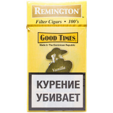 Сигариллы Good Times Remington 20 шт Vanilla