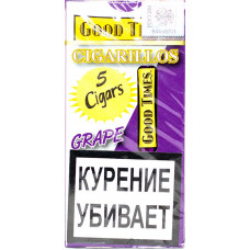 Сигариллы Good Times Cigarilos 5 шт GRAPE Виноград