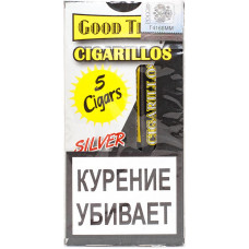 Сигариллы Good Times Cigarilos 5 шт Silver Серебряные