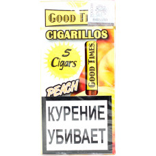 Сигариллы Good Times Cigarilos 5 шт PEACH Персик