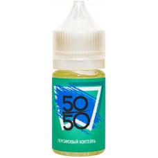 Жидкость 50/50  30 мл Персиковый Коктейль 12 мг/мл