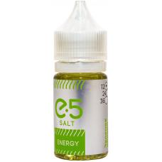 Жидкость E5 Salt 30 мл Energy 12 мг/мл