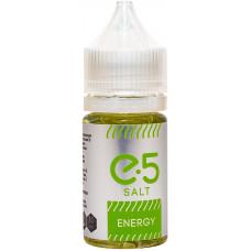 Жидкость E5 Salt 30 мл Energy 36 мг/мл