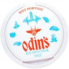 Жевательный ODINS 15 гр Ледяной Ментол 18 мг ICE MENTHOL WET