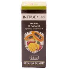 Жидкость INTRUE Lab 25 мл Манго и папайя 00 мг/мл VG/PG 50/50