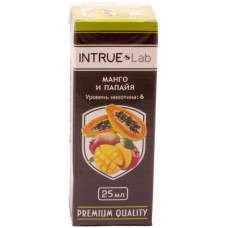 Жидкость INTRUE Lab 25 мл Манго и папайя 6 мг/мл VG/PG 50/50