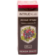 Жидкость INTRUE Lab 25 мл Лесные ягоды 00 мг/мл VG/PG 50/50