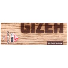 Бумага сигаретная GIZEH Brown paper Extra Fine 50 листов