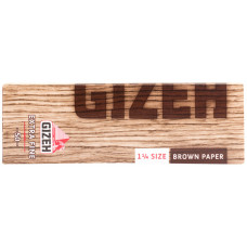 Бумага сигаретная GIZEH Brown paper  Size 1 1/4 Extra Fine 50 листов