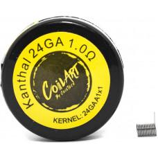 Спираль Coil Art Кантал-А1 24GA 1.0 Ом