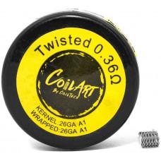 Спираль Coil Art Twisted 0.36 Ом (26GA A1/26GA A1)