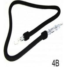 Шланг AGER Мягкий черный 4В L=173 см