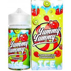 Жидкость Yummy Strawberry Kiwi Pomegranate Ice 100 мл 3 мг/мл