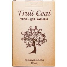Уголь Fruit Coal 72 куб 920 гр 25*25*25 Фруктовый