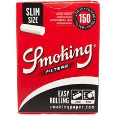 Фильтры для самокруток Smoking Easy Rolling Slim 150 шт