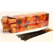 Благовония HEM Африканский муск Afrikan musk Аромапалочки Hexa