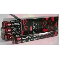 Благовония HEM Черная любовь Black Love Аромапалочки Hexa