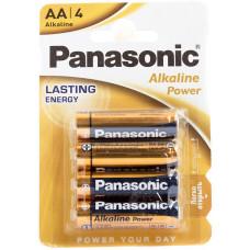 Батарейка Panasonic AA LR6 Alkaline 4шт