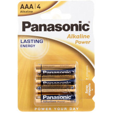 Батарейка Panasonic AAA LR03 Alkaline 4 шт