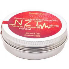 Леденцы NZT v2 Ледяная Мята 12 мг COOL MINT STRONG 25 гр Железная банка