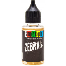 Жидкость Simple Liquid 30 мл Zebra 0 мг/мл