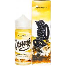 Жидкость Maxwells 120 мл ORANGE 1.5 мг/мл Мятный апельсин