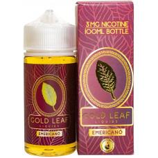 Жидкость Gold Leaf 100 мл Emericano 3 мг/мл