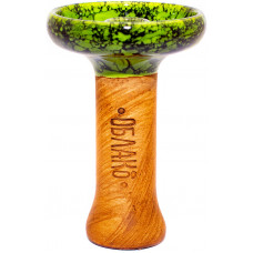 Чаша Облако Phunnel L Glaze Мрамор Зеленый