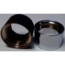 Декоративная цилиндрическая накладка eVic черный (Батарейный мод)
