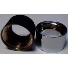 Декоративная цилиндрическая накладка eVic стальной (Батарейный мод)