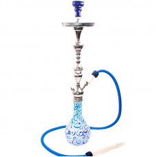 Кальян Aladin Каир сине-бирюзовый h=77 см W503