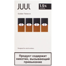 Картридж JUUL Golden Tobacco 4 шт 0.7 мл 18 мг