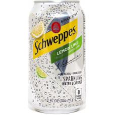 Напиток Schweppes Лимон лайм 355 мл