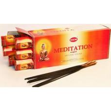 Благовония HEM Медитация Meditation Аромапалочки Hexa