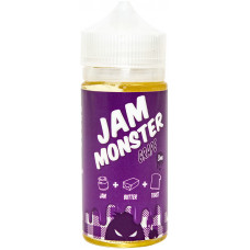 Жидкость Jam Monster 100 мл Grape 3 мг/мл