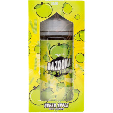 Жидкость Bazooka 200 мл Green Apple Sour Straws 3 мг/мл