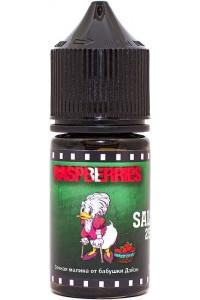 Жидкость OLD STORY SALT 30 мл 25 мг/мл Raspberries  Малина
